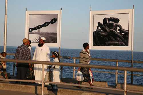 The Maputo Project, Exhibition at the Harbour of Catembe © Emeka Okereke